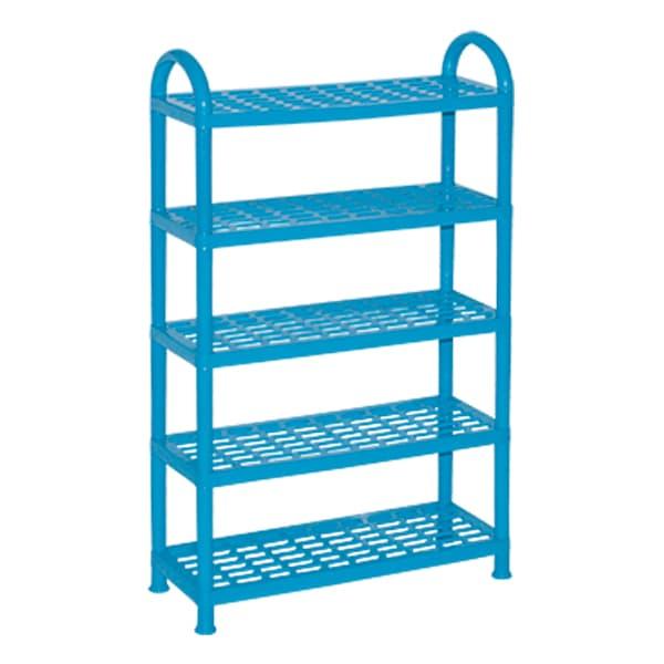 Rack Sepatu Lurus ssn 5 soft biru